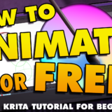 How To Animate in Krita – Tutorial for Beginners!